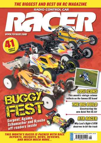 Radio Control Car Racer issue Jun 15