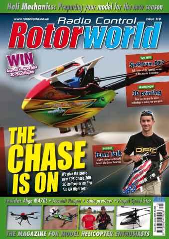 Radio Control Rotor World issue June 110