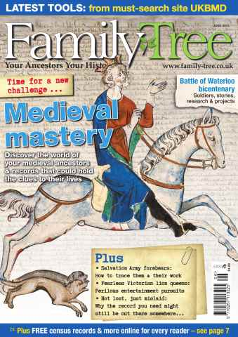 Family Tree issue Family Tree June 2015