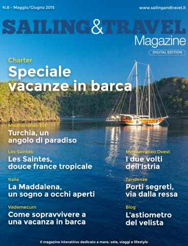 Sailing & Travel Magazine ITA issue Speciale charter e vacanze in barca