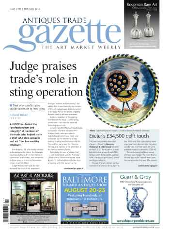 Antiques Trade Gazette issue 2191