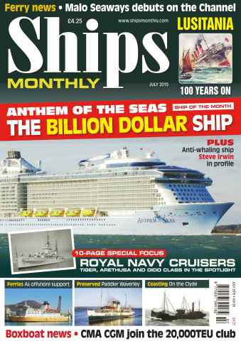 Ships Monthly issue No.607 The Billion Dollar Ship
