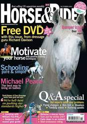 Horse&Rider Magazine - UK equestrian magazine for Horse and Rider issue October 2011