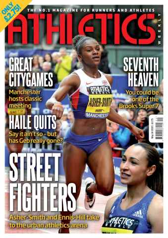 Athletics Weekly issue 14 May 2015