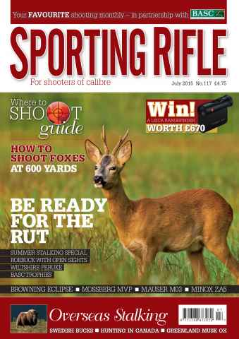 Sporting Rifle issue July 2015