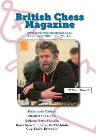 British Chess Magazine issue May 2015