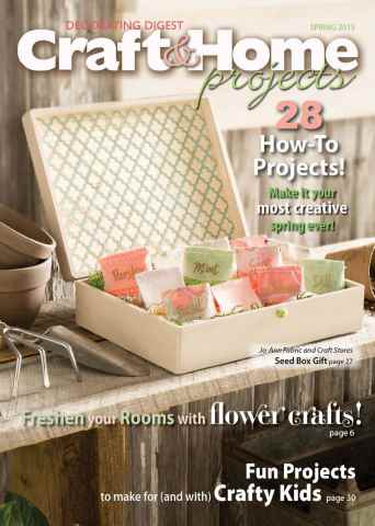 Craft & Home Projects issue Spring 2015