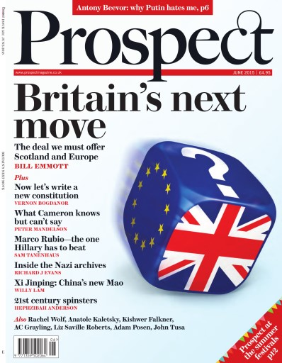 Prospect Magazine issue June 2015