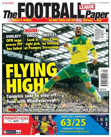 The Football League Paper issue 17th May 2015